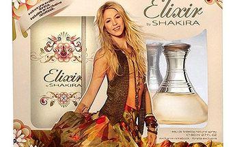 Toaletní voda Shakira Elixir Edt 80ml + zápisník
