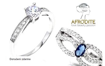 Dámské prsteny a náramky se zirkony Afrodite