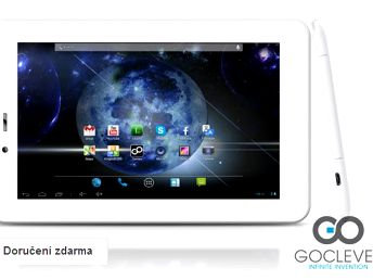Tablet GoClever s Androidem a GPS