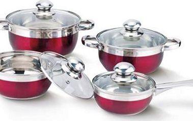 8dílná sada nádobí Banquet MAESTRO ROSSO