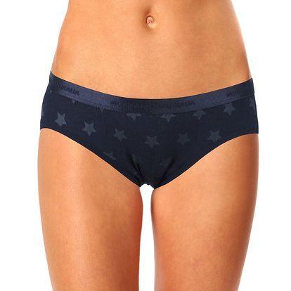 Dámské černé kalhotky s hvězdičkami Mosmann