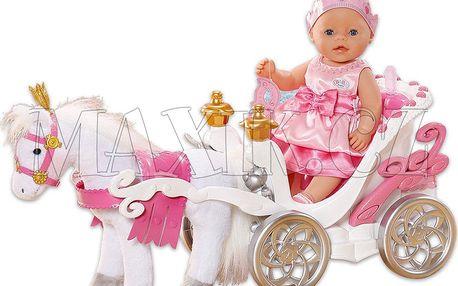 Baby Born Interaktivní kůň s kočárem
