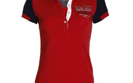 Dámské červené polo tričko Signore dei Mari