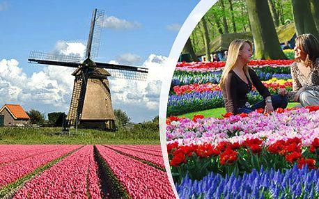 Zájezd do Amsterdamu s návštěvou největšího květinového parku Keukenhof