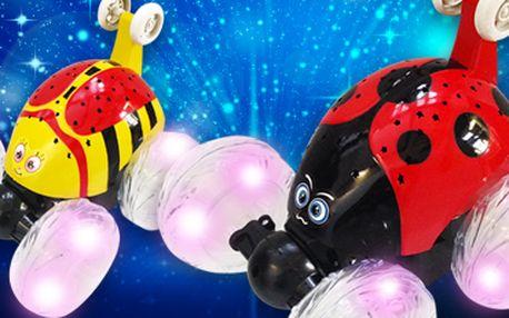 Akrobatický brouček na dálkové ovládání: perfektní pro hravé děti!
