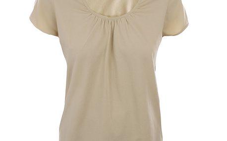 Dámské béžové bavlněné tričko Northland Professional