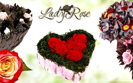 Krásné dárky z věčných růží