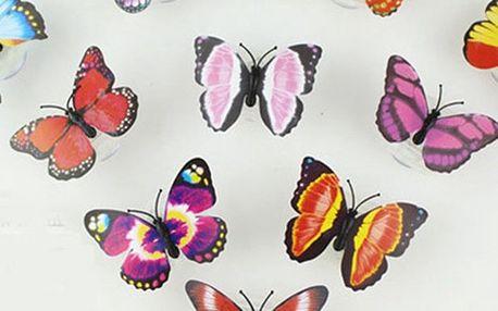 Motýlek - v noci svítí - dodání do 2 dnů
