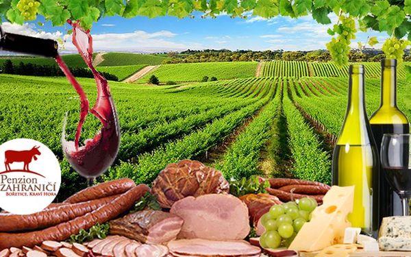 Vinařská Pálava s neomezeným vínem a rautem pro dva. Dobré jídlo a lahodné víno patří k Moravě stejně, jako k NewGo skvělé ceny :) Vychutnejte si proto vše dohromady při 3denním pobytu v penzionu v Bořeticích