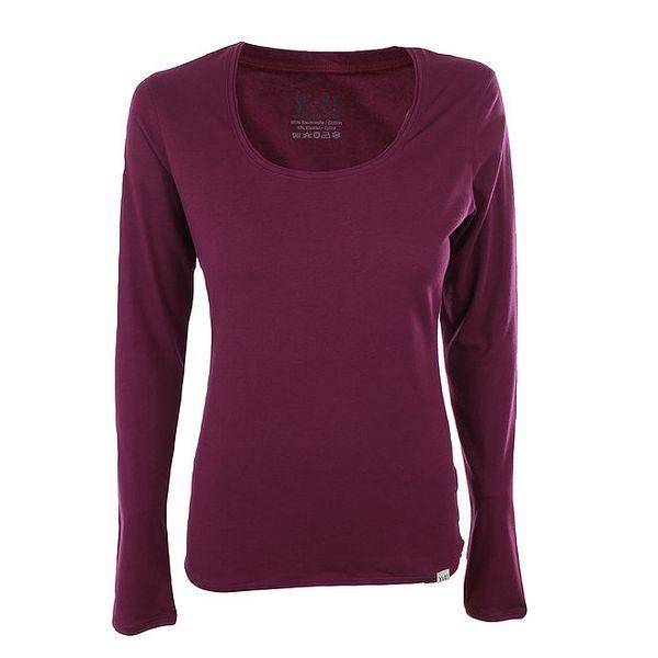 Dámské ostružinové tričko s dlouhými rukávy YU Feelwear