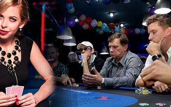 Škola pokeru sprofesionálkou + turnaj o ceny