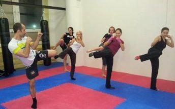 5 lekcí kickboxu, kickbox aerobiku nebo kruhový trénink. Dostaňte se po svátcích zpátky do formy!