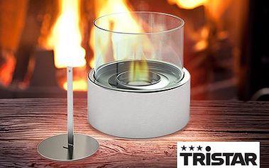 Bioethanolový krb Tristar s nerezovými hořáky