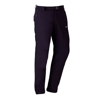 Pánské černé strečové kalhoty Izas