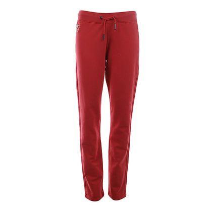 Dámské červené teplákové kalhoty Aeronautica Militare