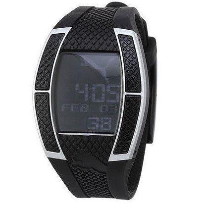 Dámské digitální hodinky Puma Top Fluctuation Black