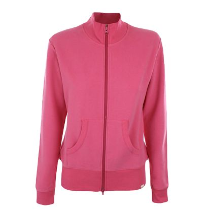 Dámská růžová mikina na zip YU Feelwear