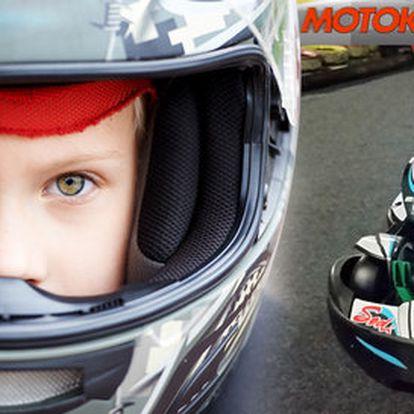 Adrenalinové jízdy v dvoumístné motokáře