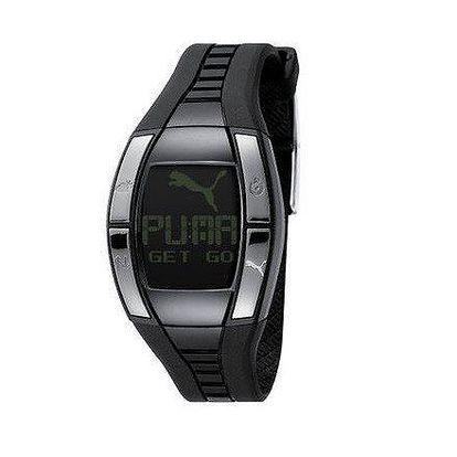 Dámské digitální hodinky Puma Active Fluctuation Black