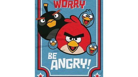 Osuška Angry Birds 094, 70 x 140 cm