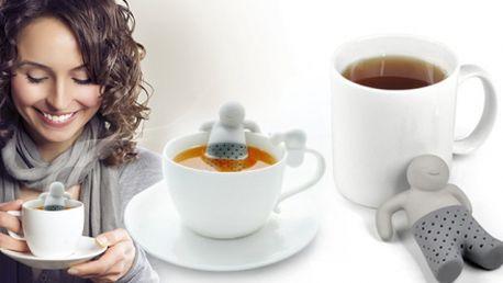 Čajový král - společník pro váš čaj! Vtipná, ale praktická pomůcka do domácnosti, to je král čaje!