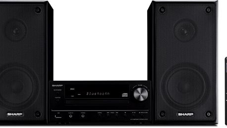 CD mikrosystém Sharp XL-HF102BHBK