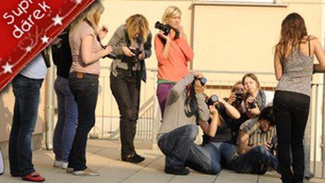 Tip na dárek k vánocům: Poukaz na půldenní kurz fotografování - zrcadlovka v praxi