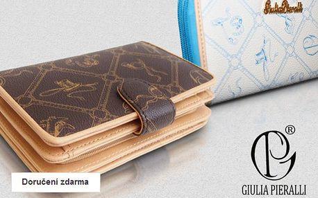 Dámské italské peněženky Giulia Pieralli v dárkové krabičce