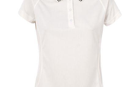 Dámské krémově bílé polo tričko Trespass