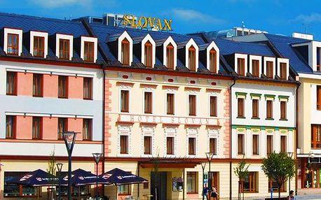 Top wellness nebo degustační pobyt pro dva v Jeseníku v hotelu Slovan****