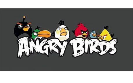Osuška Angry Birds Hang Around, 75 x 150 cm