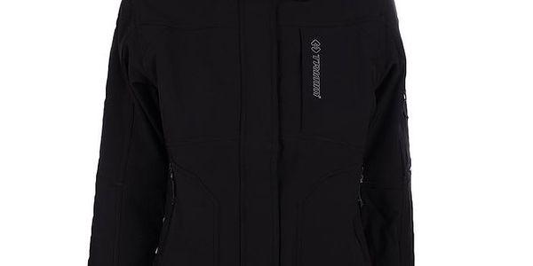 Dámská černá soflshellová bunda Trimm
