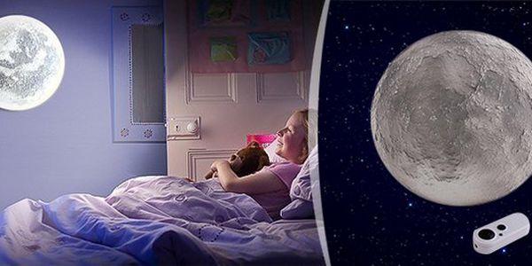 Interaktivní mystický měsíc do dětského pokoje