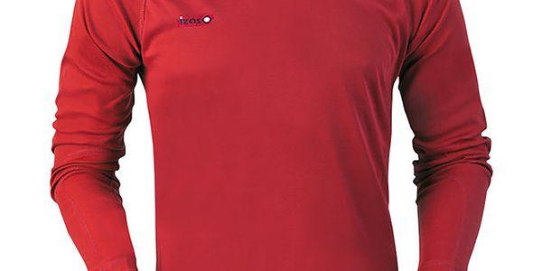 Pánské červené funkční triko Izas