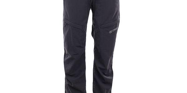 Dámské šedo-černé outdoorové kalhoty Trimm