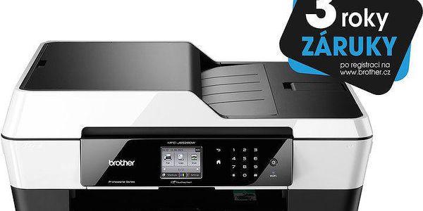Multifunkční barevná inkoustová tiskárn Brother MFC-J6520DW - MFCJ6520DWYJ1