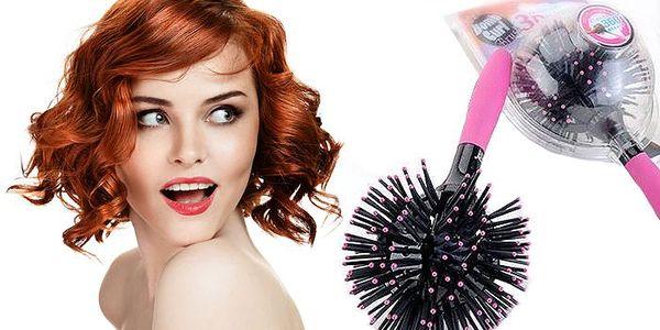 Revoluční novinka v péči o vlasy – hřeben 3D Bomb Curl