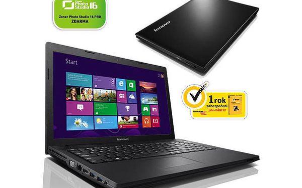 Cenově dostupný Notebook Lenovo IdeaPad G505