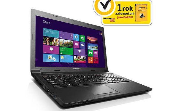Dobře vybavený multimediální notebook Lenovo IdeaPad B590