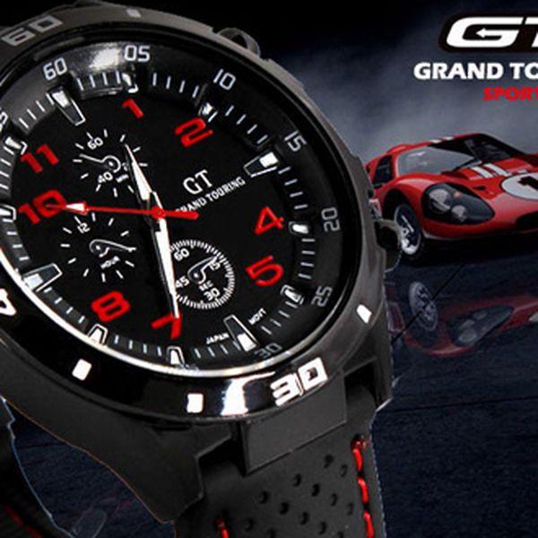 Hodinky GT - Gran Touring!! Sportovní elegance!! Několik barev