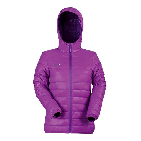 Dámská fialová péřová bunda Izas