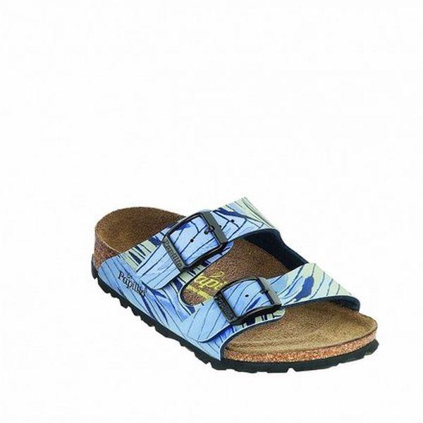 Dětské ortopedické pantofle se zebrovaným vzorem Papillio
