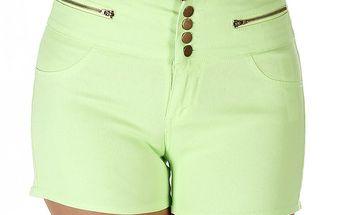 Dámské světle zelené šortky Ada Gatti
