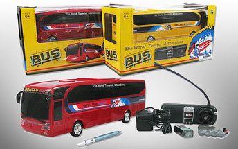 Autobus na dálkové ovládání se slevou