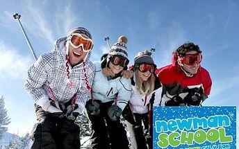 Poukazy na výuku lyžování nebo snowboardingu v Beskydech