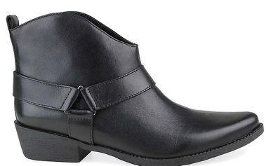 Dámské černé kotníkové boty Arezzo