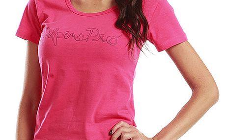 Dámské růžové tričko s krátkým rukávem Alpine Pro