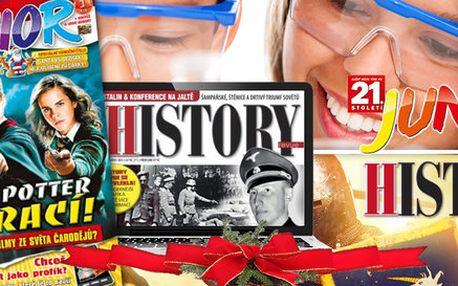 Pololetní předplatné časopisu 21. století JUNIOR + el. verze History