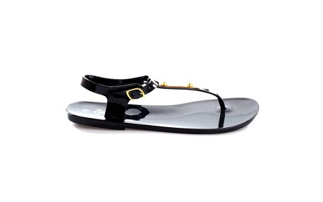 Dámské černé sandálky s ozdobou So Real
