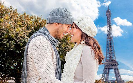 4 denní zájezd na Valentýna do Paříže v termínu 12. - 15.2.2015